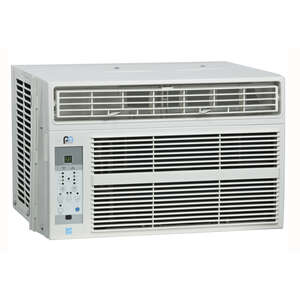 Perfect Aire  6000 BTU 13.5 in. 23 in. 250 sq. ft. Window Air Conditioner