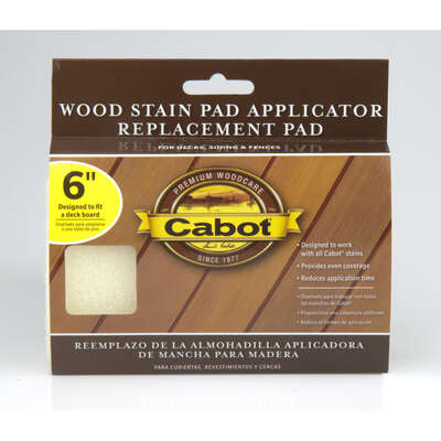 Cabot  Refill 6 in. W Wood Stain Pad  For Smooth Surfaces