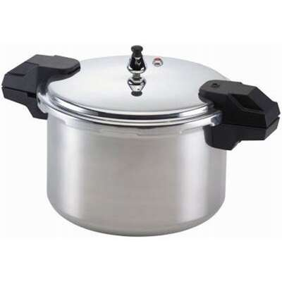 Mirro  Polished Aluminum  Pressure Cooker and Canner  16