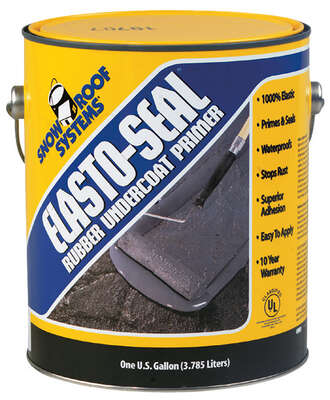 Elasto Seal  Smooth  Gray  Acrylic Elastomeric  Undercoating Primer  1 gal.