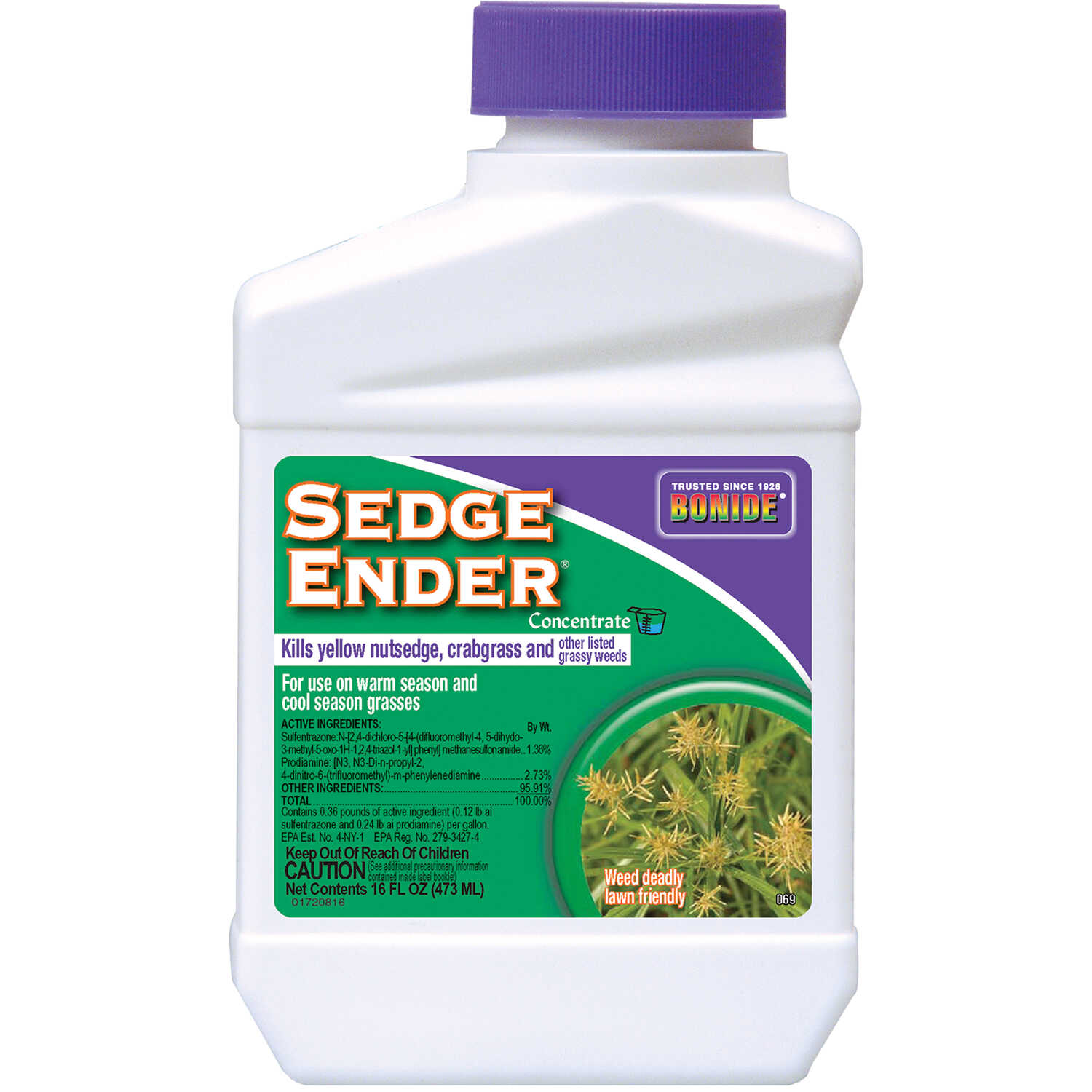 Bonide  Sedge Ender  Concentrate  Nutsedge Killer  16 oz.