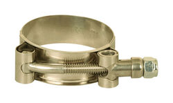 Apache  1.9 in. Dia. Stainless Steel  T-Bolt Clamp