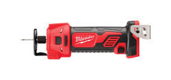 Milwaukee  M18  1/4 and 1/8 in. Cordless  Cut-Out Tool  Bare Tool  18 volt 28000 rpm