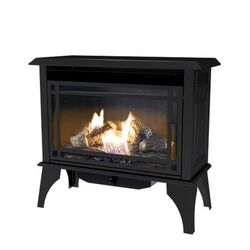 Pleasant Hearth  Traditional  Natural and Propane Gas  30000 BTU Steel  Vent-Free Stove  28.27 in. H