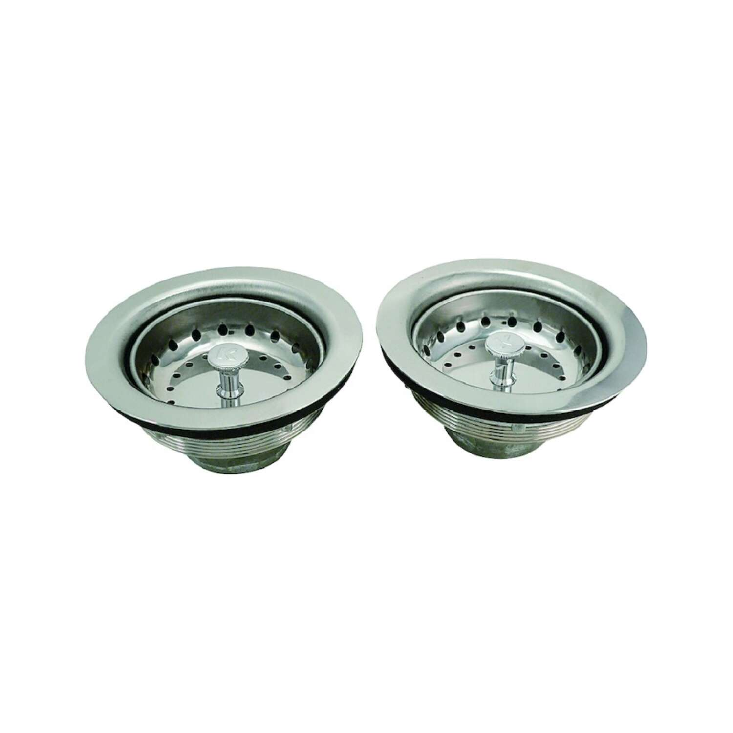 Keeney  3.5 in. Chrome  Stainless Steel  Basket Strainer Assembly