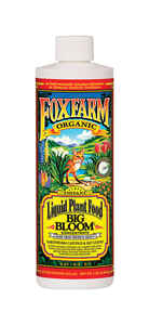 FoxFarm  Big Bloom  Organic Liquid Plant Food Concentrate  1 pt.