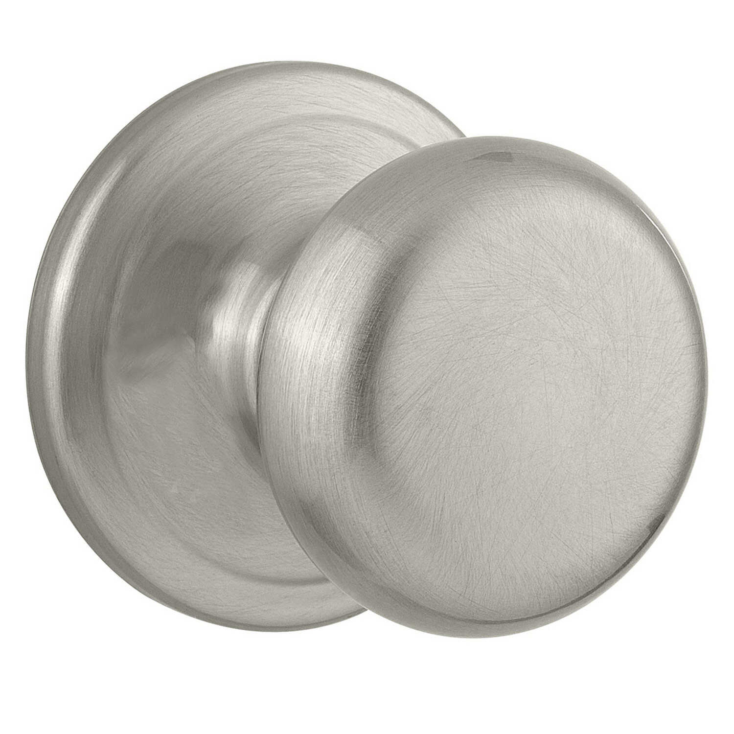 Kwikset  Juno  Satin Nickel  Steel  Passage Lockset  ANSI/BHMA Grade 2  1-3/4 in.