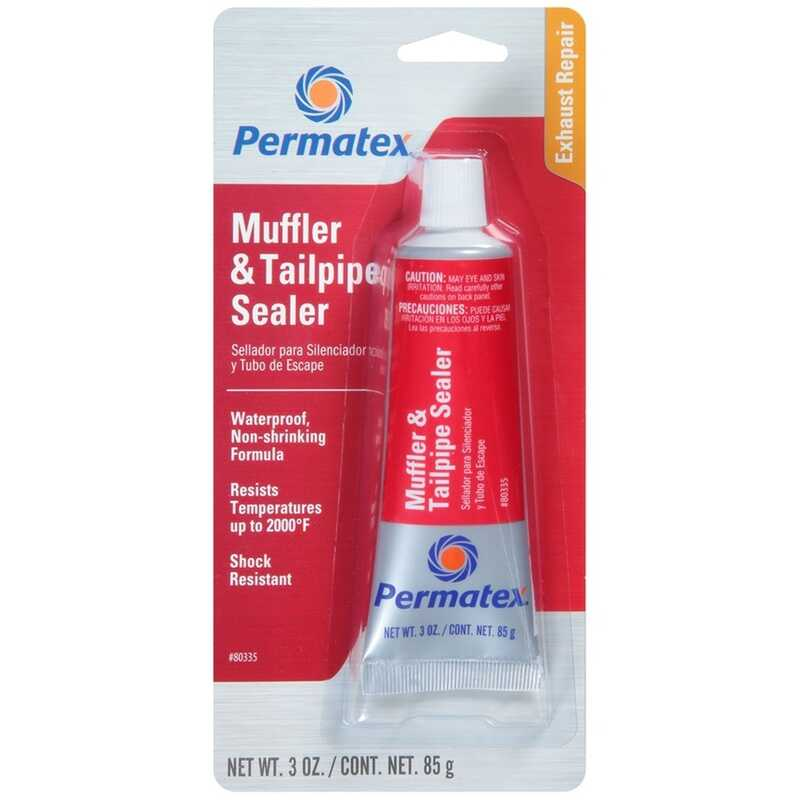 Permatex  Muffler/Tail Pipe Sealer