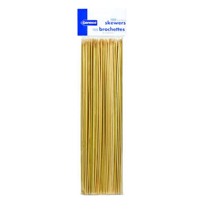 BIA Cordon Bleu  Danesco  12 in. L Brown  Bamboo  Bamboo Skewer