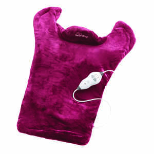Thermapulse Relief Wrap  As Seen On TV  Massaging Heat Wrap-Burgundy