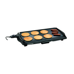 Proctor Silex  Black  Plastic  Nonstick Surface Electric Griddle  200 sq. in.