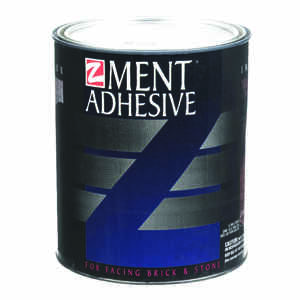 Z-Ment  10 in. H x 6 in. W Natural  Adhesive  20 sq. ft.