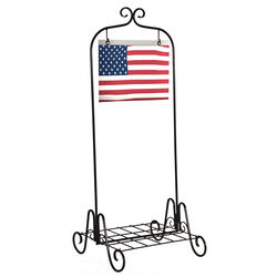 Panacea  36 in. H Black  Steel  Plant Stand