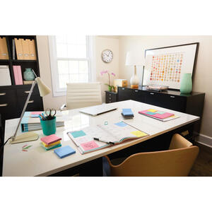 Post-It  3 in. W x 3 in. L Assorted  Sticky Notes  4 pad