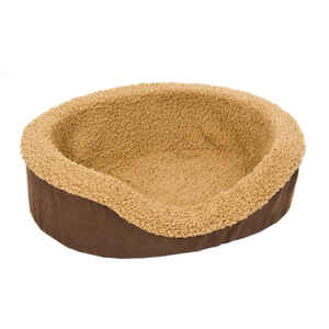 Petmate  Faux Micro Suede  Rectangle  14 in. W x 18 in. L x 5 in. H Assorted  Pet Bed