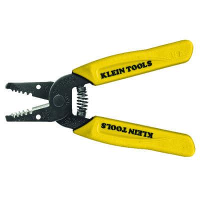 Klein Tools  18 Ga. 6-1/4 in. L Wire Stripper/Cutter