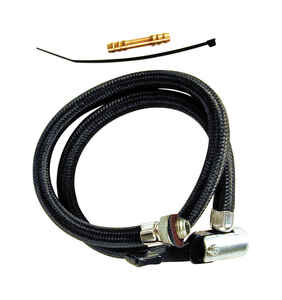 Custom Accessories  100 psi Air Pump Hose  For Bicycle Tires