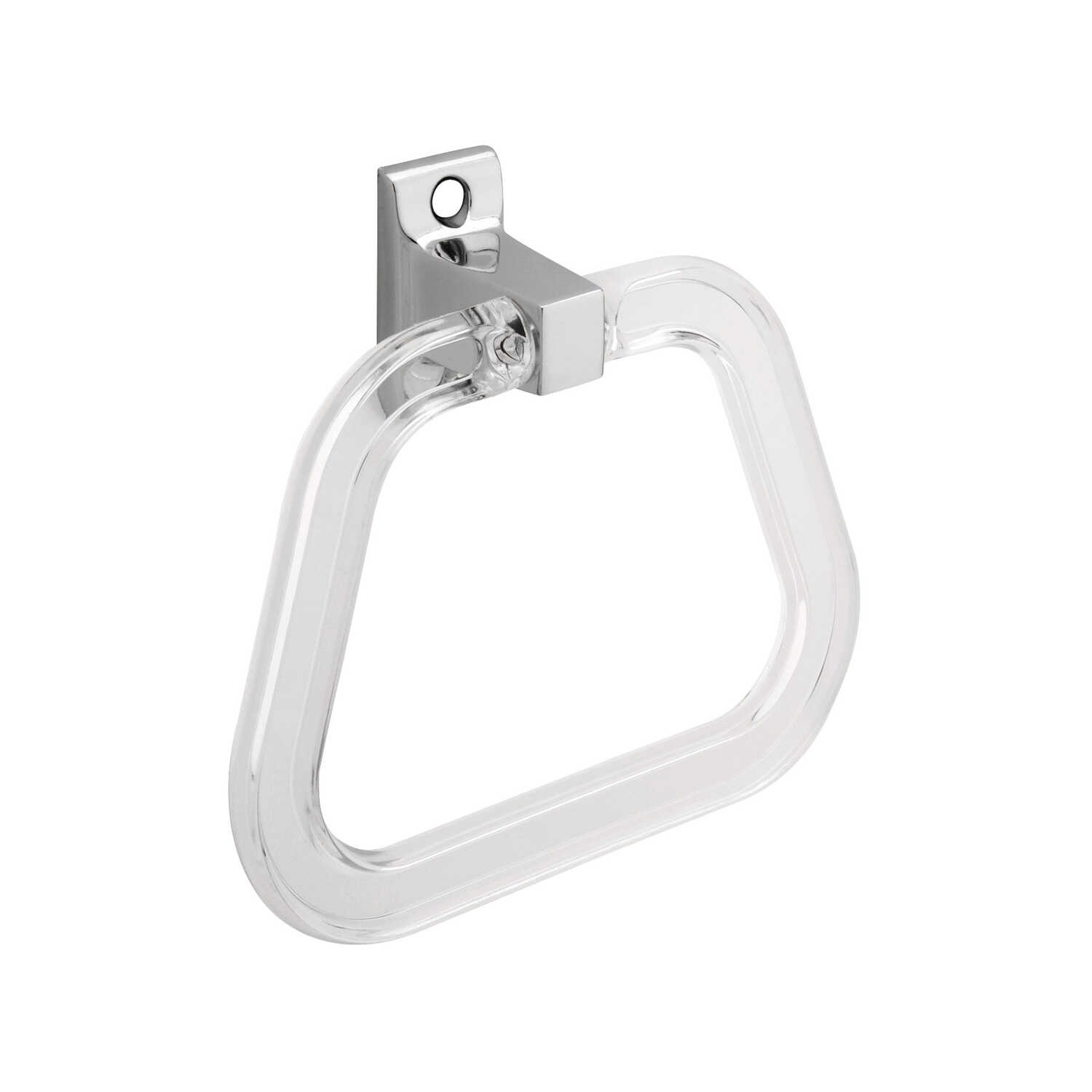 Franklin Brass  Centura  Chrome  Towel Ring  Die Cast Zinc