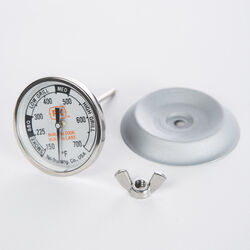 PK Grills  Tel-Tru  Analog  Grill Thermometer Gauge