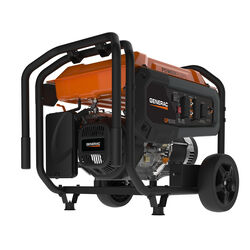 Generac  PowerRush  8000 watts Black  Electric Start Portable Generator