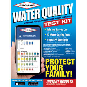 Pro-Lab  Water Quality Test Kit  N/A
