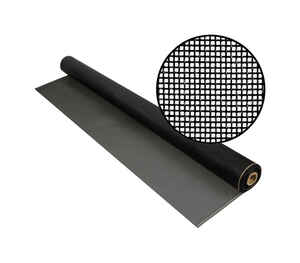 Phifer Wire  36 in. W x 100 ft. L Charcoal  Fiberglass  Screen Cloth