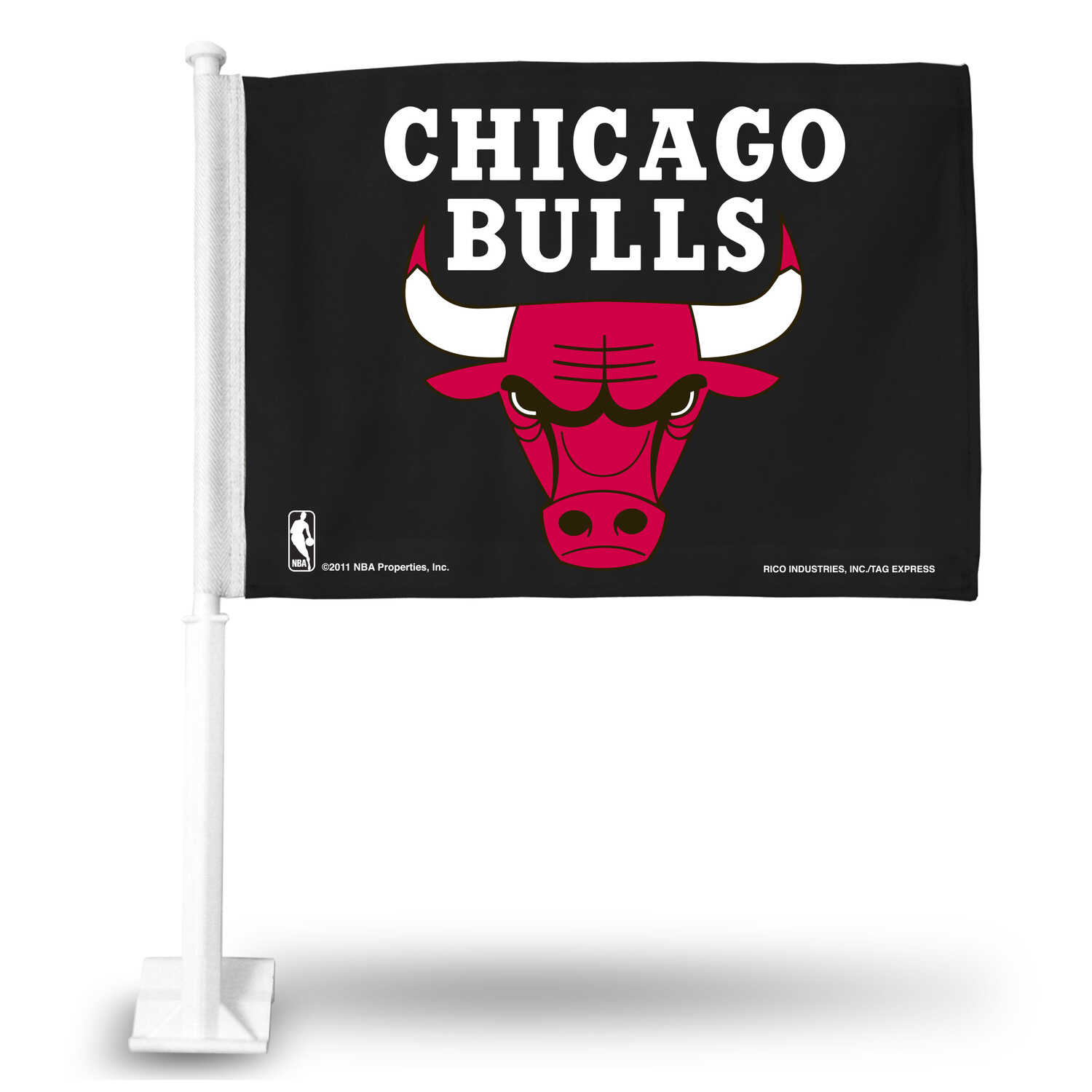 Rico  MLB  Chicago Bulls  2.5 in. H x 1.5 in. W Flag