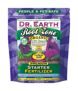 Dr. Earth  Root Zone  Granules  Organic Root Feeder  4 lb.