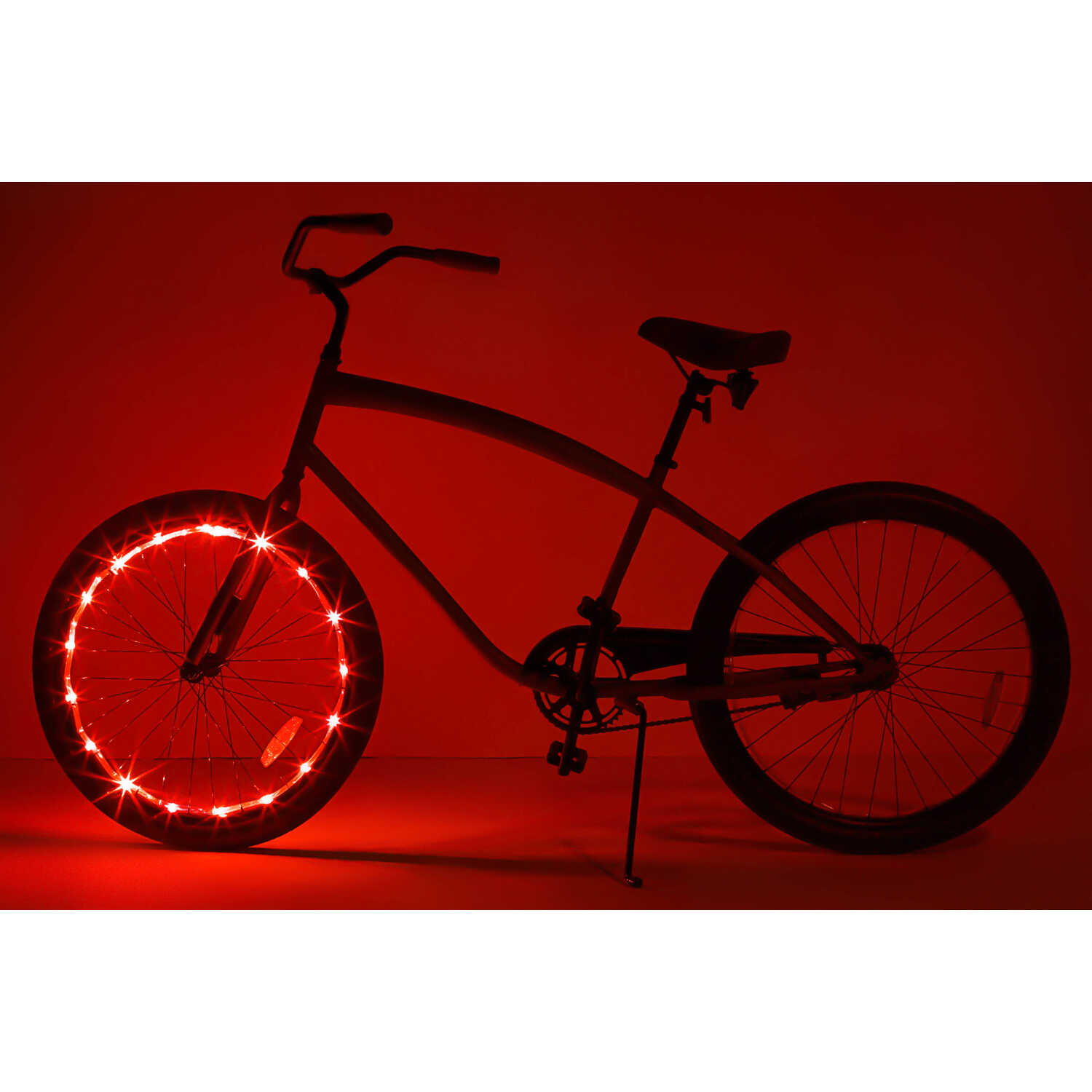 Brightz Ltd.  WheelBrightz  LED Bicycle Light Kit  ABS Plastics/Polyurethane/Electronics  1 set