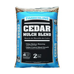 Timberline  Brown  Cedar  Mulch  2 cu. ft.