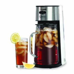 Capresso  80 oz. Black/Silver  Iced Tea Maker