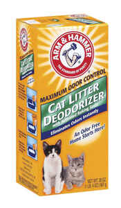 Arm & Hammer  No Scent Cat Litter Deodorizer  20 oz.