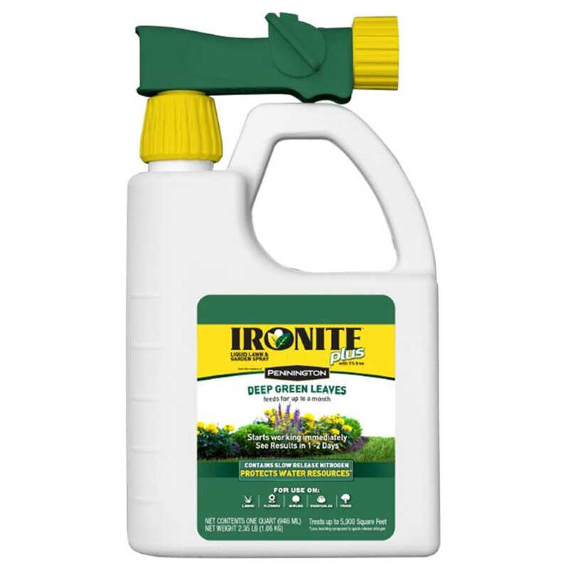Pennington  Ironite Plus  7-0-1  Lawn Fertilizer  For All Grass Types 1 qt.