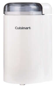 Cuisinart  White  Stainless Steel  Coffee Grinder  2.5