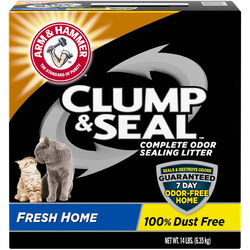 Arm & Hammer  Clump & Seal  No Scent Cat Litter  14 lb.