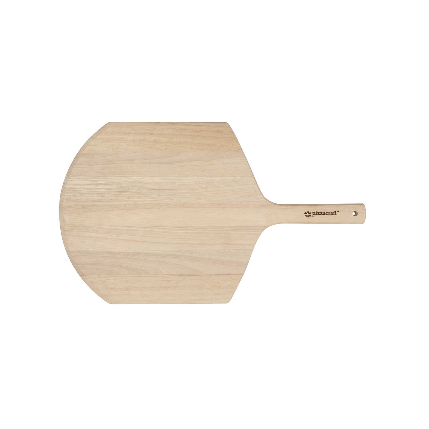 Pizzacraft  12 in. W x 20 in. L Natural  Hardwood  Pizza Peel