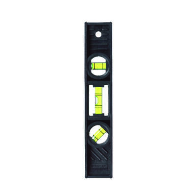 Stanley  8 in. ABS  Torpedo  Level  3 vial