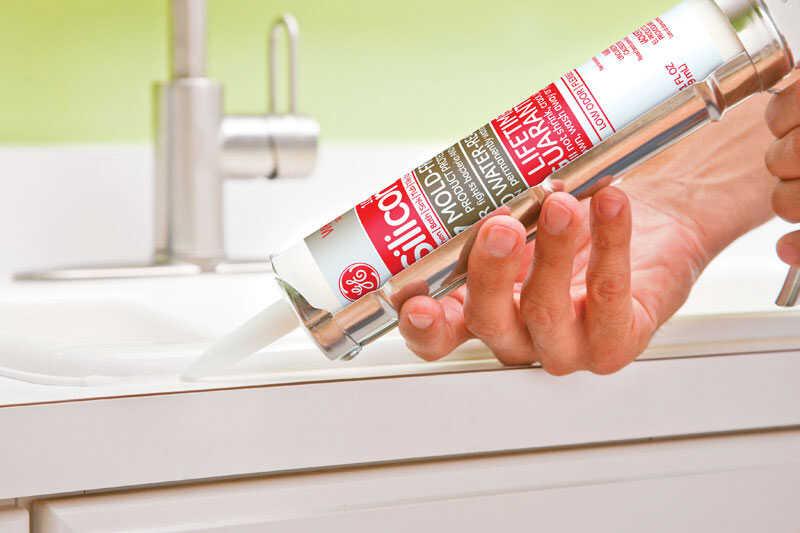 GE Silicone 2 White Silicone 2 Kitchen and Bath Silicone