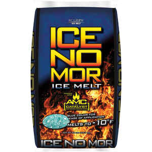 Ice No Mor  Calcium Chloride  Ice Melt  50 lb. Crystal
