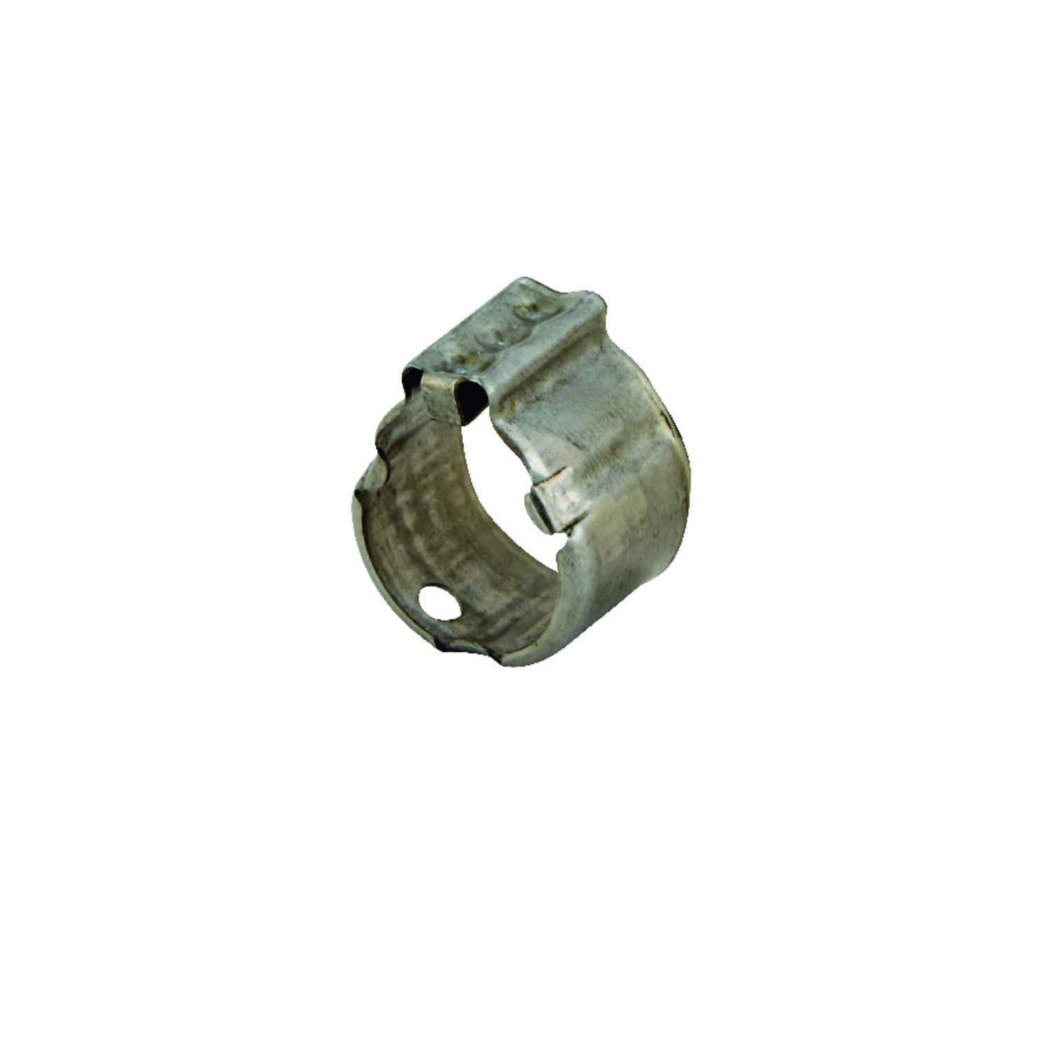 Zurn  Qickclamp  1/2 in. CTS   x 1/2 in. Dia. CTS  Crimp Ring  Stainless Steel