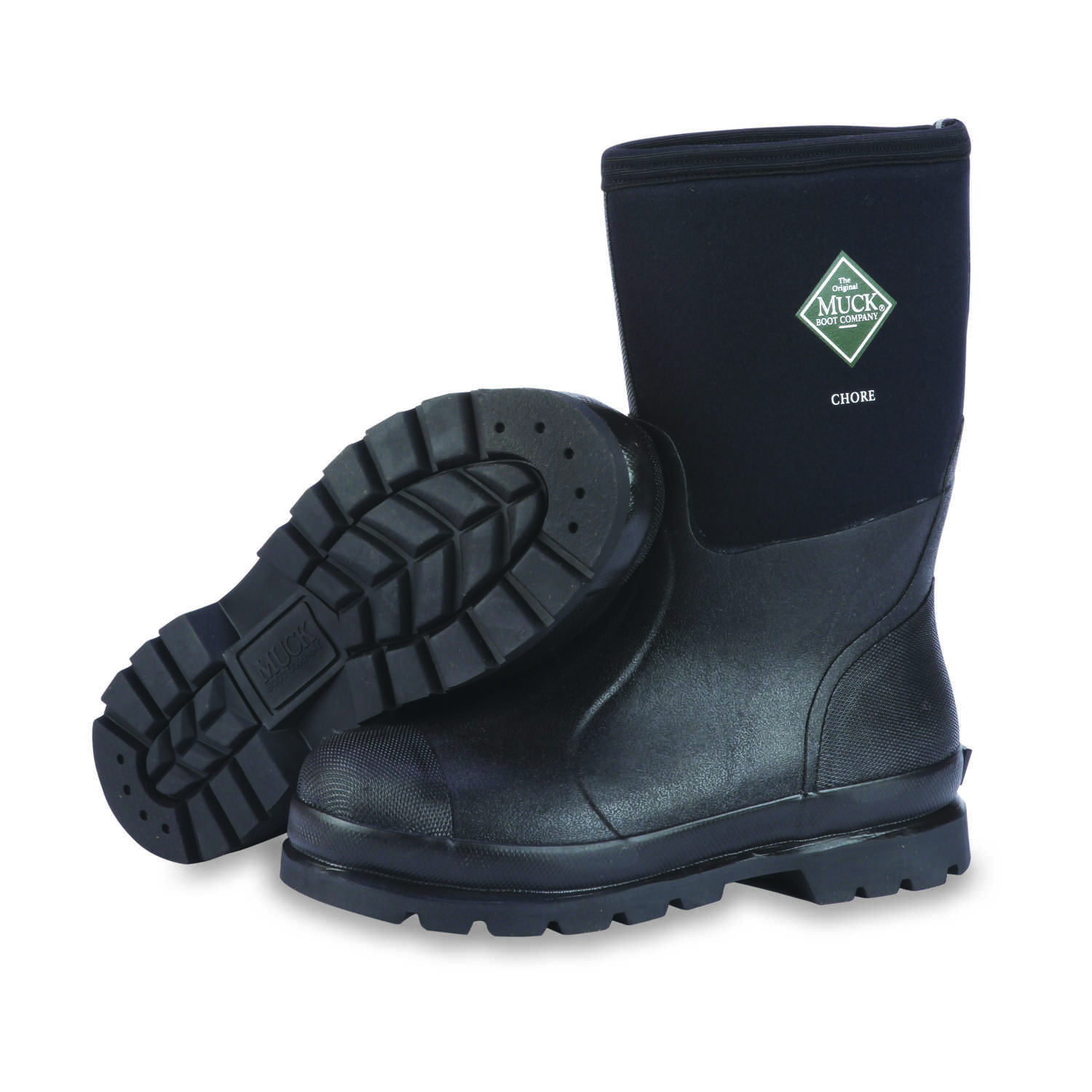 The Original Muck Boot Company  Chore Mid  Men's  Boots  13 US  Black