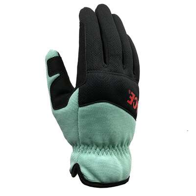 Ace  L  I-Mesh  Womens Utility  Black/Mint  Gardening Gloves