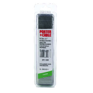 Porter Cable  18 Ga. Smooth Shank  Straight Strip  Brad Nails  1 in. L 1,000 box