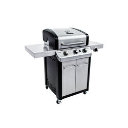 Char-Broil  Signature  Liquid Propane  Freestanding  Grill  Stainless Steel  3
