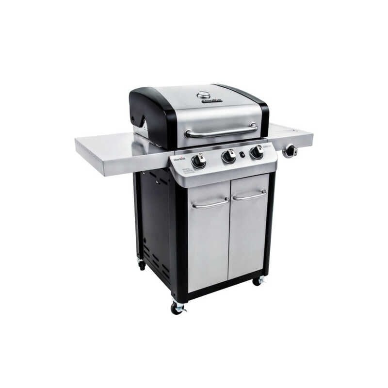 Char-Broil  Signature  3 burners Propane  Grill  Stainless Steel  24000 BTU