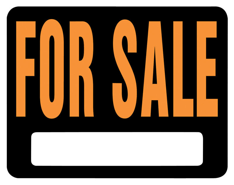 Hy-Ko  English  For Sale  15 in. H x 19 in. W Plastic  Sign