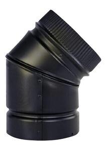 Galvanized Steelsteel Stove Pipe Elbow 39 99 Compare Selkirk 6 In Dia X 6 In Dia Adjustable 45 Deg