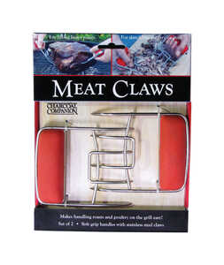 Charcoal Companion  Stainless Steel  Meat Claws