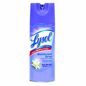 Lysol  Early Morning Breeze Scent Disinfectant  12.5 oz. Spray