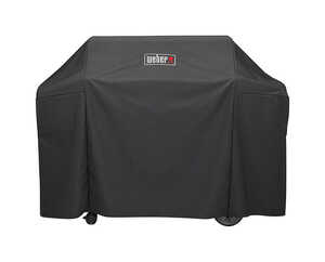 Weber  Genesis II  Black  Grill Cover  65 in. W x 44.5 in. H x 25 in. D For Fits Genesis II and Gene